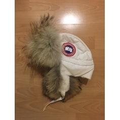 Chapeau CANADA GOOSE Blanc, blanc cassé, écru