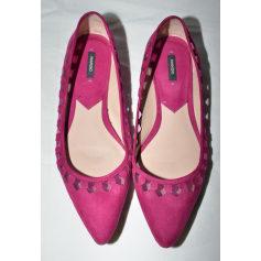 Ballet Flats MANGO Pink, fuchsia, light pink
