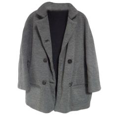 Coat SANDRO Gray, charcoal