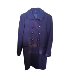 Coat MAJE Purple, mauve, lavender