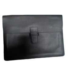 Porte document, serviette LANCEL Noir
