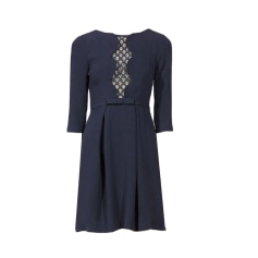 Mini Dress CLAUDIE PIERLOT Blue, navy, turquoise