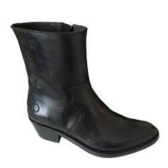 Bottines & low boots à talons ZADIG & VOLTAIRE Noir