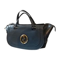 Sac XL en cuir GUCCI Bleu, bleu marine, bleu turquoise