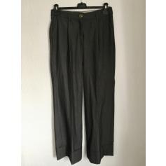 Pantalon large ARMAND BASI Gris, anthracite
