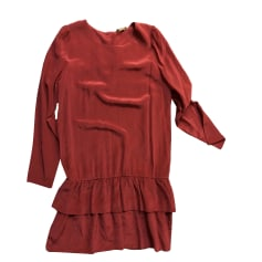 Mini Dress BEL AIR Red, burgundy