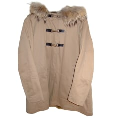 Impermeabile, trench MAJE Beige, cammello