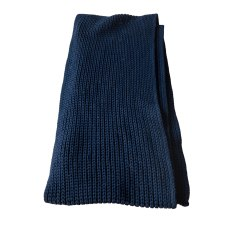 Scarf MELINDA GLOSS Blue, navy, turquoise