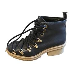 Bottines & low boots plates 3.1 PHILLIP LIM Bleu, bleu marine, bleu turquoise