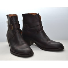 Bottines & low boots à talons AIGLE Marron