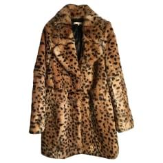 Manteau en fourrure SANDRO Imprimés animaliers