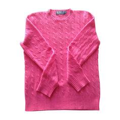 Maglione RALPH LAUREN Rosa, fucsia, rosa antico