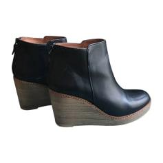 Bottines & low boots à compensés ANTHOLOGY PARIS Noir