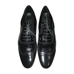 Lace Up Shoes GIANFRANCO FERRE Black
