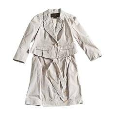 Blazer, veste tailleur LOUIS VUITTON Blanc, blanc cassé, écru