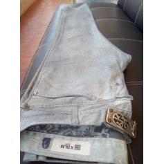 Straight-Cut Jeans  MARITHÉ ET FRANÇOIS GIRBAUD Grau, anthrazit