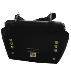 Leather Handbag KAREN MILLEN Black