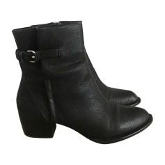 Bottines & low boots à talons ALEXANDER WANG Noir
