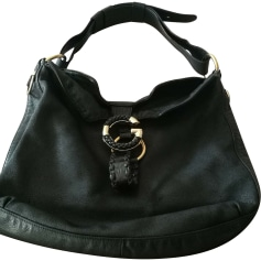 Borsa XL in pelle GUCCI Hobo Nero