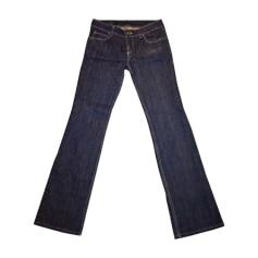 Jeans évasé, boot-cut GUCCI Bleu, bleu marine, bleu turquoise