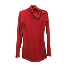 Blouse BALMAIN Red, burgundy