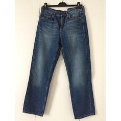 Jeans large, boyfriend COS Bleu, bleu marine, bleu turquoise