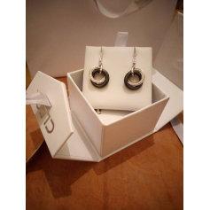 Ohrringe CLEOR Silberfarben, stahlfarben