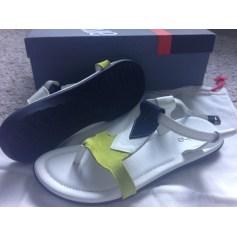 Sandales plates  ARCHE Blanc, blanc cassé, écru