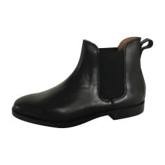 Stiefeletten, Ankle Boots RALPH LAUREN Schwarz