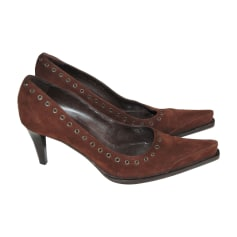 Pumps, Heels SERGIO ROSSI Brown