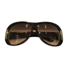 Sunglasses GUCCI Brown
