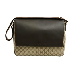 Non-Leather Shoulder Bag GUCCI Brown