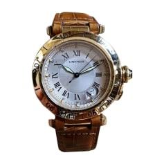 Armbanduhr CARTIER Gold, Bronze, Kupfer