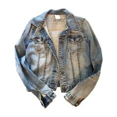 Giacca di jeans RALPH LAUREN Blu, blu navy, turchese