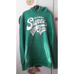 Sweat SUPERDRY Vert