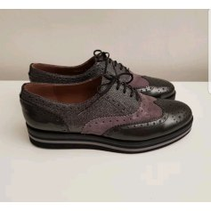 Chaussures à lacets  PERTINI Gris, anthracite