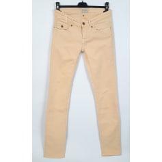 Jeans slim MAISON SCOTCH Jaune