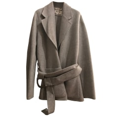 Manteau ACNE Gris, anthracite