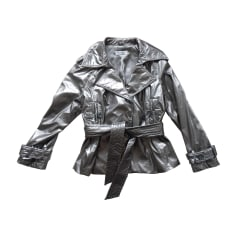 Waterproof, Trench BALMAIN Silver