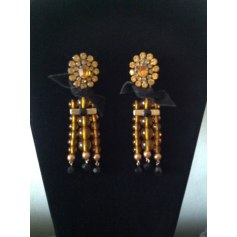 Boucles d'oreille 100% VINTAGE Orange