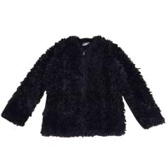 Manteau en fourrure ZADIG & VOLTAIRE Noir
