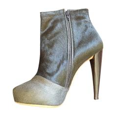 Bottines & low boots à talons MAISON MARTIN MARGIELA Vert