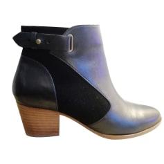 High Heel Ankle Boots COMPTOIR DES COTONNIERS Black