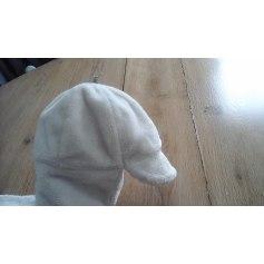 Beanie BURBERRY White, off-white, ecru