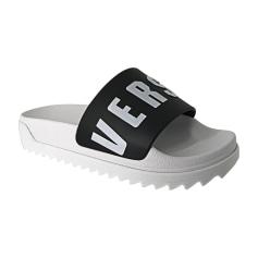 Sandales plates  VERSUS VERSACE Blanc, blanc cassé, écru