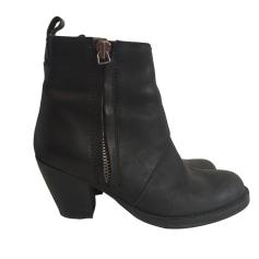 Bottines & low boots motards ACNE Noir