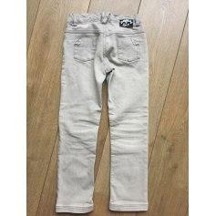 Jeans dritto DIOR Grigio, antracite