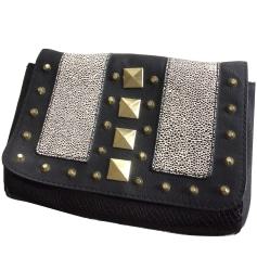 Leather Shoulder Bag H&M Black
