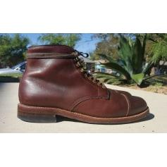 Chaussures à lacets ALDEN Marron