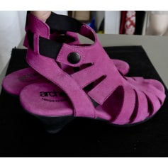Sandales à talons ARCHE Rose, fuschia, vieux rose
